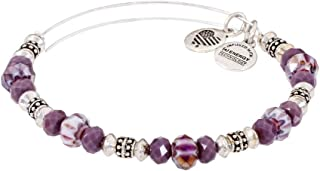 Alex and Ani You Are Loved Silver Expandable Bracelet A17MDAY08RS