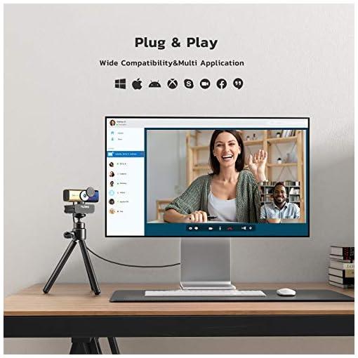 C905 Autoenfoque Webcam con Micrófono, Full HD 1080P/ 30 fps con Cubierta de Privacidad, Cámara Web USB para PC… 7