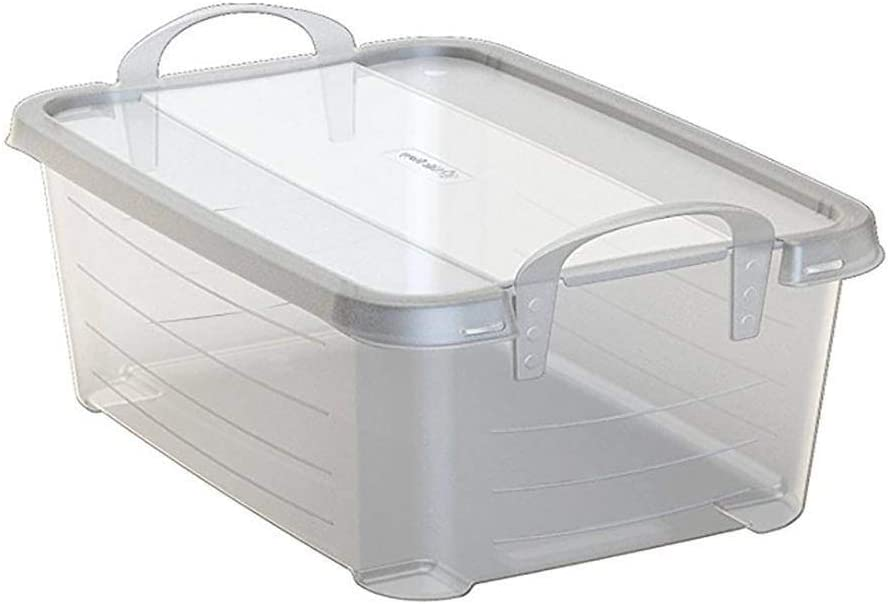 Life Story 14 Quart Clear Con Storage Organization Stackable Box Shipping included Ranking TOP4