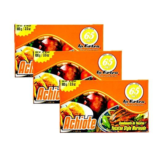 Achiote en pasta - 100g - pack de 3 unidades