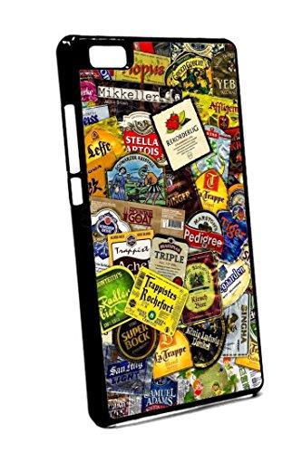 Bkstuff Cover Custodia Birre Etichette Loghi per Vari Modelli Huawei (Huawei P8 Lite)
