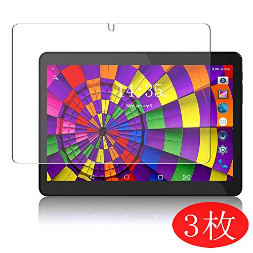 [3 Pack] Synvy Screen Protector for ZONKO x11 Android Tablet 10.1' TPU Flexible HD Film Protective Protectors [Not Tempered Glass]