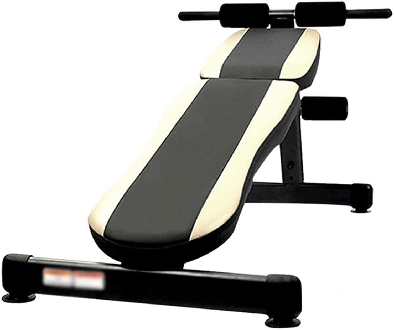 DUXX ダンベルベンチ、ホームエクササイズフィットネス機器トレーナー運動腹部筋肉ボードマルチレンジ調整 トレーニングベンチ