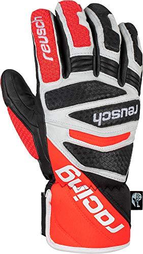 Reusch Worldcup Warrior DH Handschuh, Black/White/Fluo red, 9