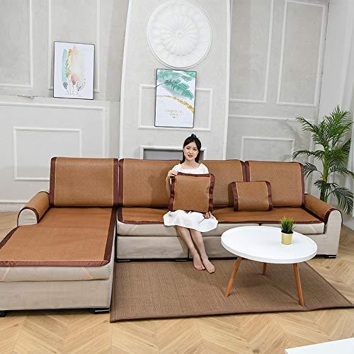 El cojín de enfriamiento rápido sofá de verano de hielo viña de enfriamiento rápido antideslizante sofá funda de cojín debe ser utilizado en la sala de estar y dormitorio en verano, Galletas, 70*70