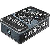 Nostalgic-Art Retro Vorratsdose flach BMW – Classic Legend – Geschenk-Idee für Auto Zubehör...