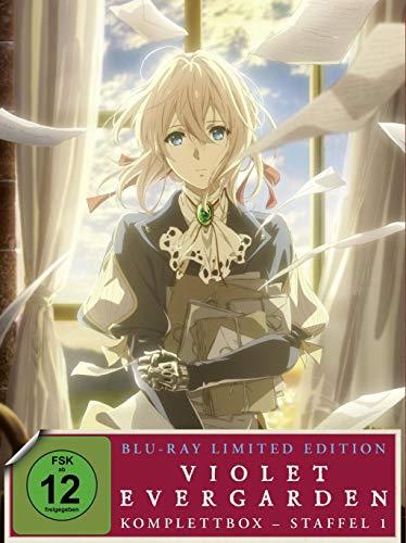 Violet Evergarden - Staffel 1 - Komplettbox - Limited Special Edition [Alemania] [Blu-ray]