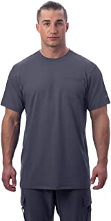Men's Instant Cooling Short Sleeve Pocket Workwear Shirt