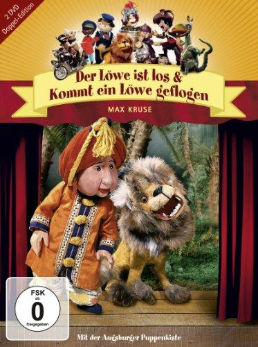Augsburger Puppenkiste: Der Löwe ist los + Kommt ein Löwe geflogen (Doppel Edition 2 DVDs)