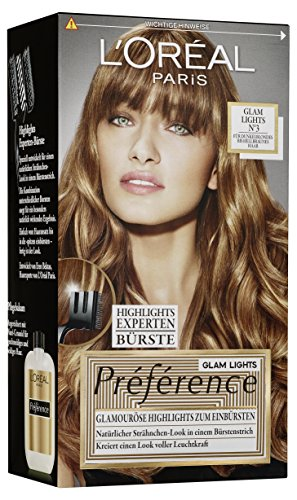L'Oréal Paris Préférence Glam Lights Nr 3, 1er Pack (1 x 1 Stück)