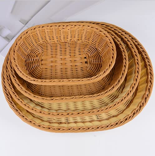 Bread Basket Woven Max 51% OFF Tabletop Serving Food At the price Fruit Vegetables