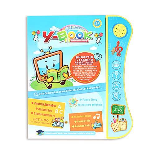RNICE Smart Talking Book para niños Early Learning Development Talking Book niño niño niño educativo Leaning Machine con pluma