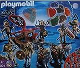 Playmobil 5001 Caballero Lobo con el Equipo Catapult Fuerza