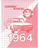 1964 Chevrolet Belaire Biscayne Impala Assembly Manual