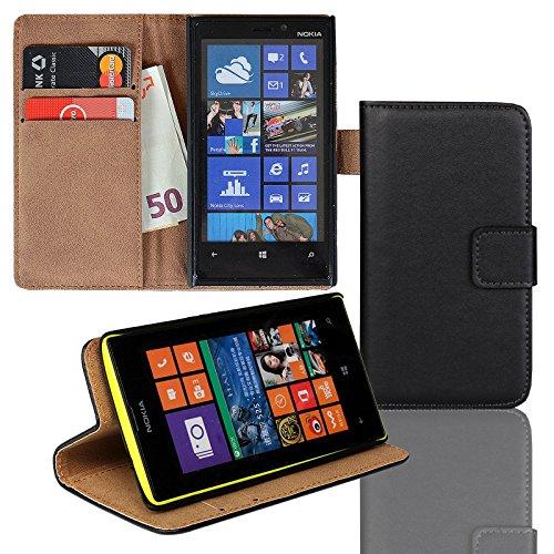 Eximmobile - Funda con Tapa para Nokia Lumia Negro Nokia Lumia 630/635