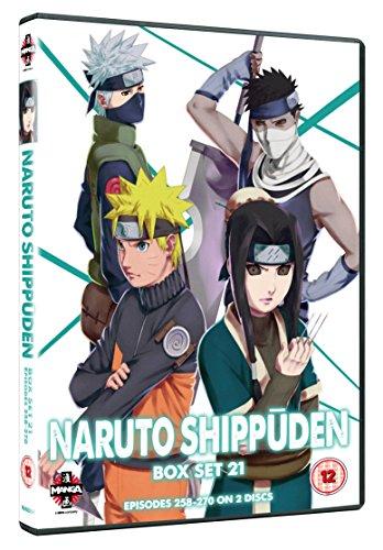 Naruto Shippuden-Box Set 21 (2 DVD) [Edizione: Regno Unito] [Import]
