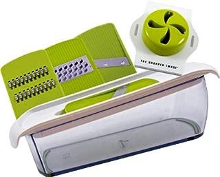 Sharper Image 3 in 1 Mandoline Super Slicer with Non Slip Container