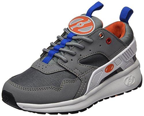 Heelys Force High-Top, Grau (Grey/White/Orange), 36.5 EU