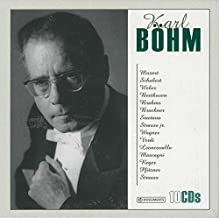 Karl Böhm conducts: Mozart, Schubert, Beethoven, Brahms, Smetana, ...