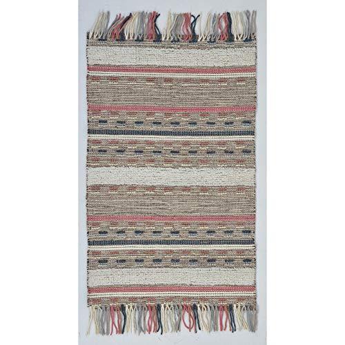 RugSmith Area tapijt, wol, meerkleurig, 91 x 152 cm