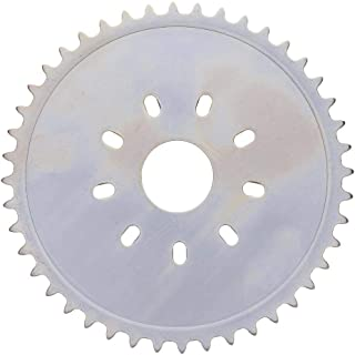 RUNGAO 44T Sprocket 8 Holes For 49cc 50cc 60cc 80cc Motorized Bicycle Motorized Bike Rear