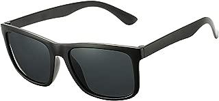 Unisex Polarized Sunglasses Classic Retro Sun Glasses, Unbreakable TR90 Frame