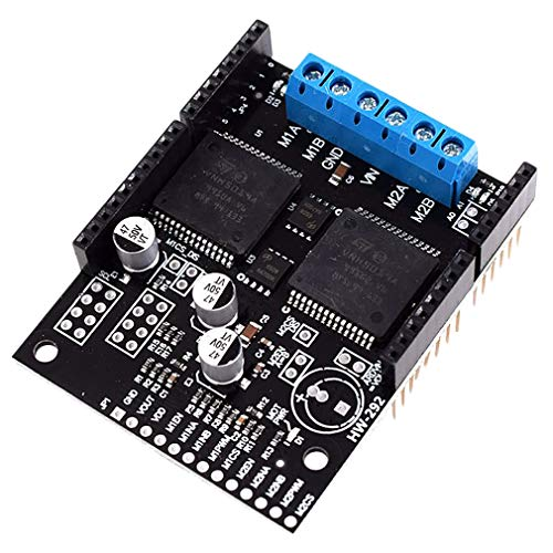 HiLetgo VNH5019 2-Channel DC Motor Driver Board 30A High Current With Voltage Protection VNH2SP30 Upgrade Support