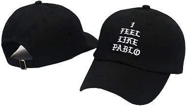 Kokkn I Feel Like Pablo Baseball Cap Unisex Snapback Hat Cotton Adjustable Dad Hat for Men Women