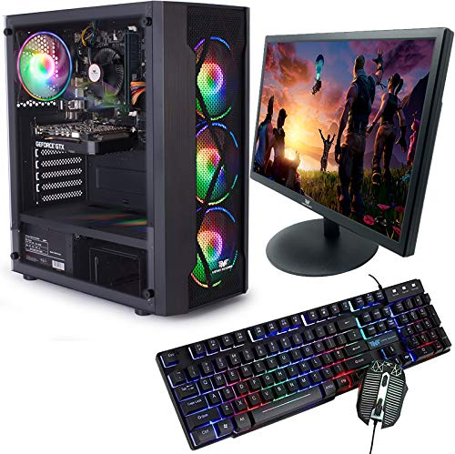 Veno Scorp GAMING PC BUNDLE Intel Core i7 2600 16GB Ram 256GB SSD + 1TB HDD GTX 1650 4GB Windows 10 Gaming PC USB 3.0