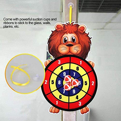 Pillowcase Best Sticky Dart Board Set Sports Toy Fabric Double-Sided Ball Dart Board Children's Toy Dart Board Target Sticky Child Safety Toy Gift