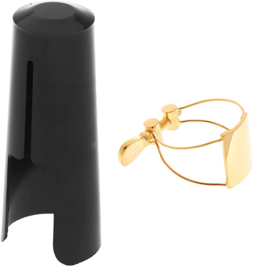 YIJU Metal Saxophone Mouthpiece A surprise price is realized Clip with Max 48% OFF Ligature Sax