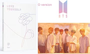 BTS Love Yourself Her (O Version) Album Bangtan Boys CD+Poster+Photobook+Photocard+Mini Book+Sticker Pack+Gift (Extra 6 Photocards and 1 Double-Sided Photocard Set)