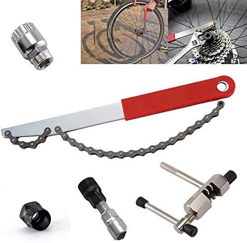 5 In 1 Fiets Tool Repair Kit + Crank Crank/trapas