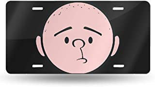 MELISSI Oui-A Metal Vintage The Ricky Gervais Show Karl Pilkington License Plate Car Accessories 6