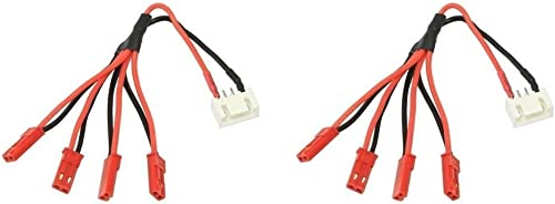 2 x Quantity of Walkera courirner 250 (R) Advanced GPS Quadcopter Drone 3S Li-Po   Plug JST-XH to 4x Male JST LED Power Distribution Lead Wire - FAST Libre SHIPPING FROM Orlando, Florida USA