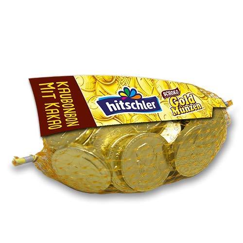 hitschler Goldmünzen Kaubonbon, 40er Set (40 x 150g Beutel)