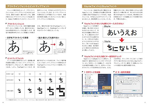 『和文フリーフォント250 - 豊富な作例ですぐに使いこなせる!(CD-ROM付き)』の4枚目の画像