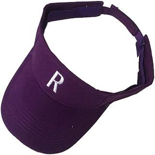 Kindlov-hat Gorros de Verano para Mujer Gorra de Visera para el Deporte, para Mujeres Sombreros de Sun Beach (Color : Púrpura, tamaño : Free Size)