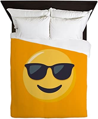 Amazon.com: CafePress – Alien Emoji cara – Queen funda de ...