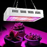 Victool Luz de Crecimiento de Plantas LED, Espectro Completo 100 Bombilla de Crecimiento de Plantas LED Lámpara hidropónica de Panel de floración Vegetal para Plantas de Interior AC85-265V