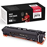 LEMERO Toner [sin Chip] Compatible para HP 207A 207X W2210A W2210X para HP Color Laserjet Pro M255dw MFP M282nw M283cdw M283fdw, Negro