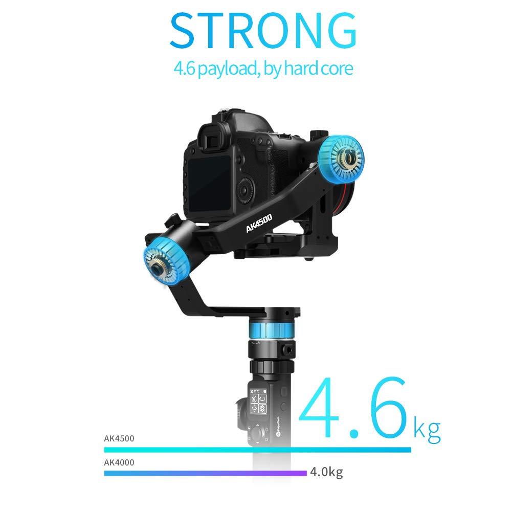 FeiyuTech AK4500 estabilizador de cámara de 3 Ejes cardán de Mano ...