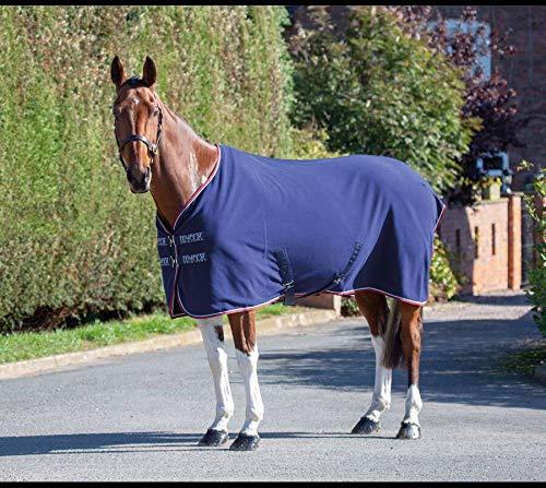 Shires Tempest Original Pferdedecke / Pferdedecke aus Fleece, Marineblau 57
