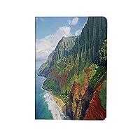 ハワイアンデコレーション お洒落 2020モデル iPad 10.9ケース iPad Air4ケース ナパリコーストカウアイハワイの海岸の緑冒険の旅風景 全保護ケース 超軽量 薄型 オートスリープ機能