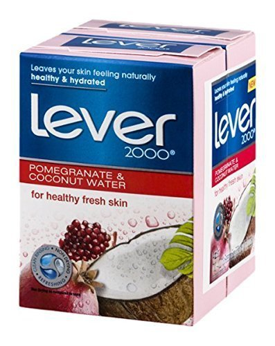 Lever 2000 Refreshing Bars Pomegranate & Coconut Water - 2 ct