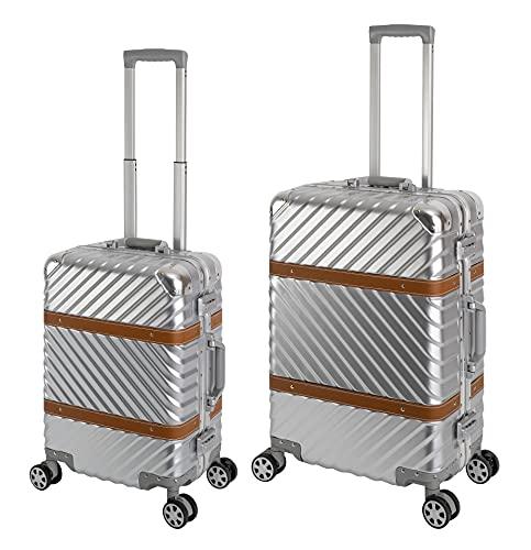 Travelhouse Paris - Trolley da viaggio con telaio in alluminio, disponibile in diversi colori (S, M, L, XL)