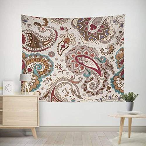 2020 nuevo tapiz decorativo de poliéster bohemio impreso estilo bohemio tapiz de pared blanco toalla de playa colgante de pared decoración del hogar