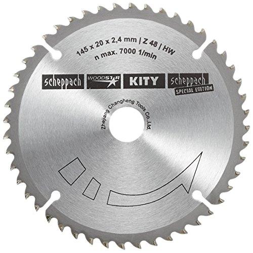 Scheppach 3901803704 HW-Kreissägeblatt Ø 145x20mm, 2,2mm, 48Z f. Tauchsäge