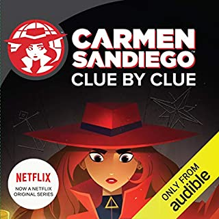 Clue by Clue: Carmen Sandiego cover art