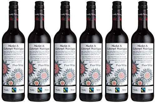 Fairtrade Cabernet Sauvignon - Merlot, 6er Pack (6 x 750 ml)